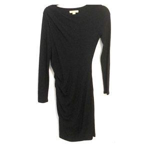 Banana republic black bodycon sweater dress S